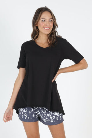 Betty Basics Noosa Tee - Black