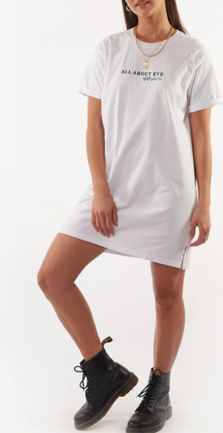 All About Eve AAE  Washed Tee Dress - White