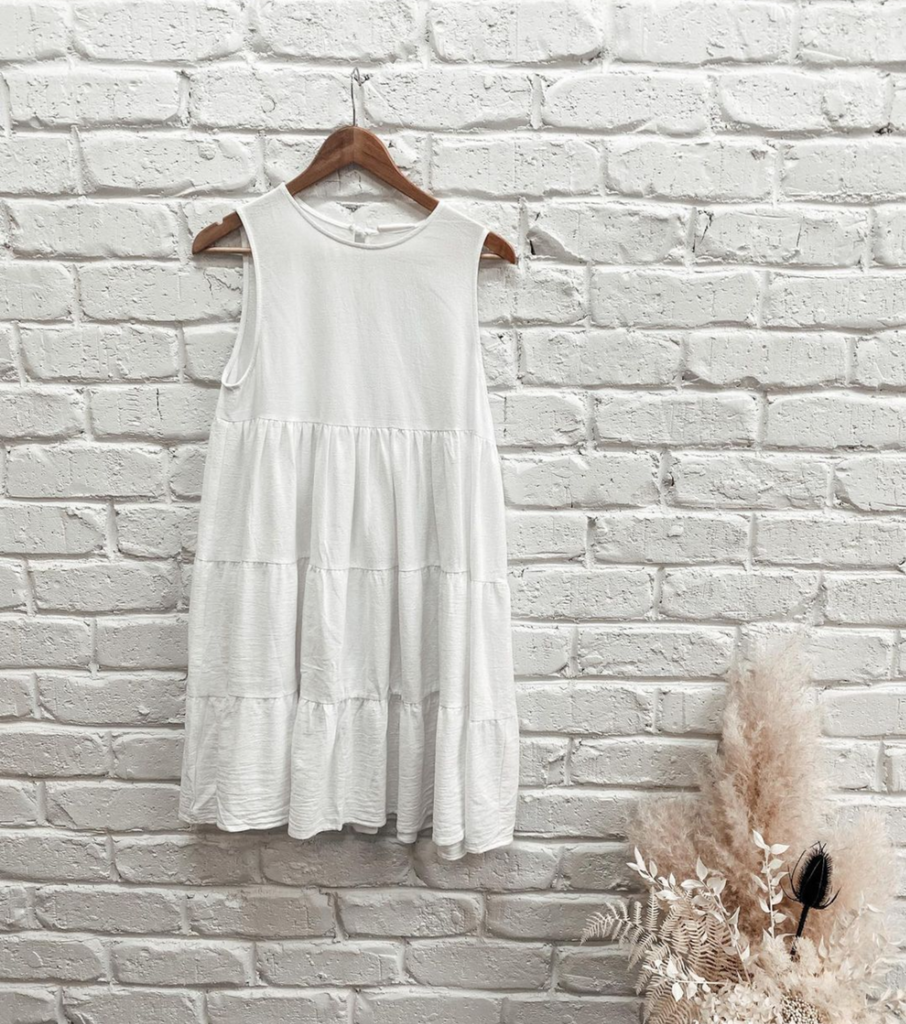 Bagira Lulu Dress - White