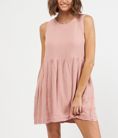 Tayla Dress - Blush
