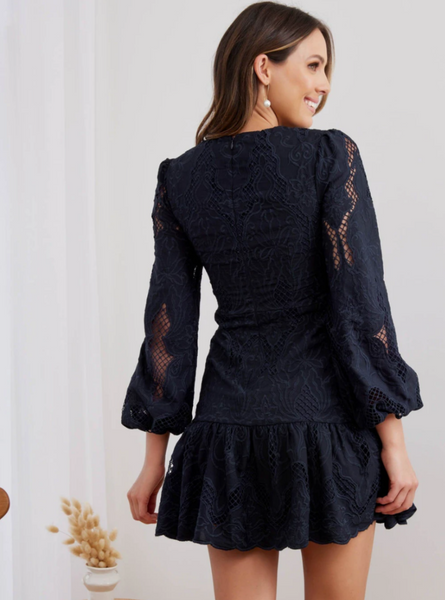 Two Sisters the Label Octavia Dress - Navy