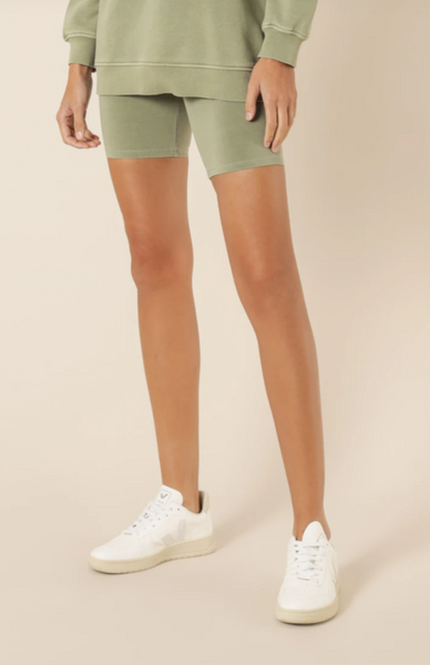 Nude Lucy Classic Bike Short - Deep Sage
