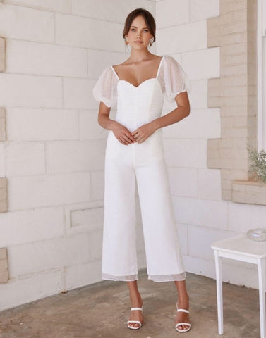 Two Sisters the Label Harriette Jumpsuit - White