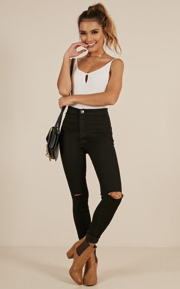 Wakee Jeans 10023-Black