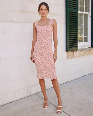 Two sisters label Mellie Dress - Pink/Floral