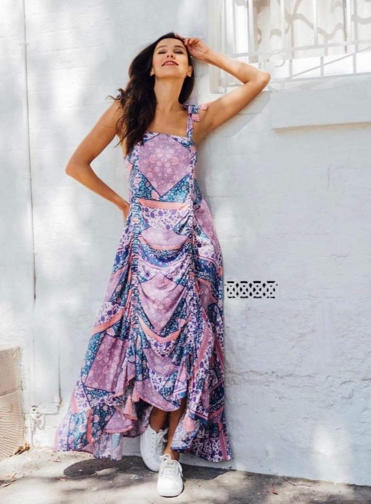 Luna Maxi Dress - Purple