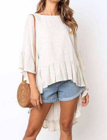 Trudy Top - Beige