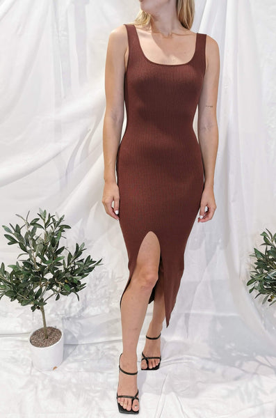 Khayla Dress - Mocha
