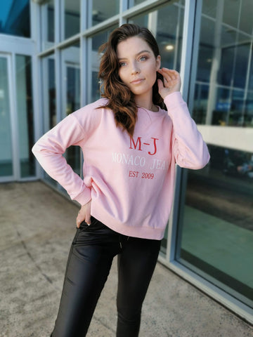 MJ Sweat Jumper - Pink