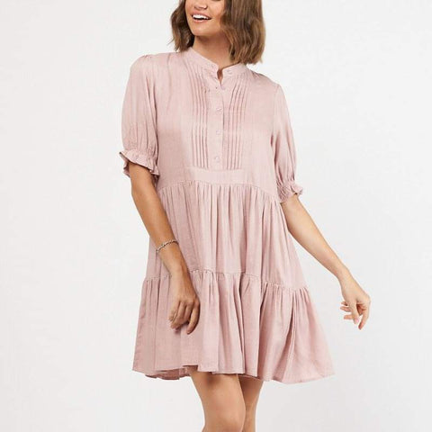 Mossy Dress - Blush