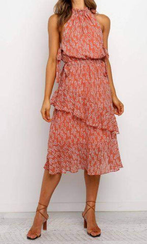 Adeline Dress - Rose