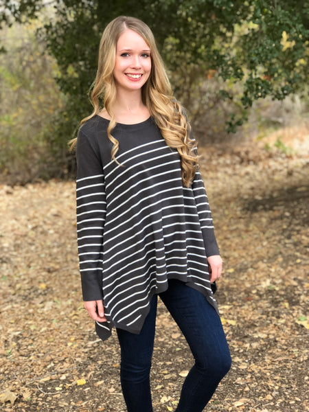 PIPER STRIPE SWEATER