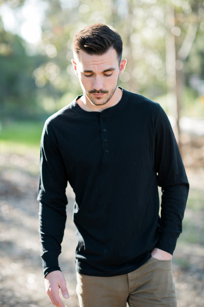 LIAM JERSEY LONG SLEEVE HENLEY