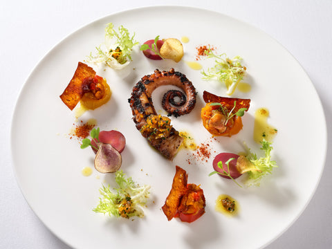 Grilled Octopus. Photo by Darren Bernaerd