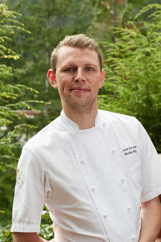 Executive Chef Lukas Gurtner. Photo by Darren Bernaerd