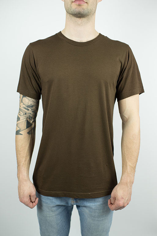 Unisex Organic Bamboo T-shirt in Cocoa