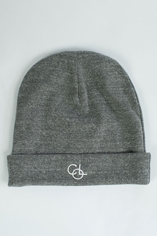 The Port Beanie in Light Grey