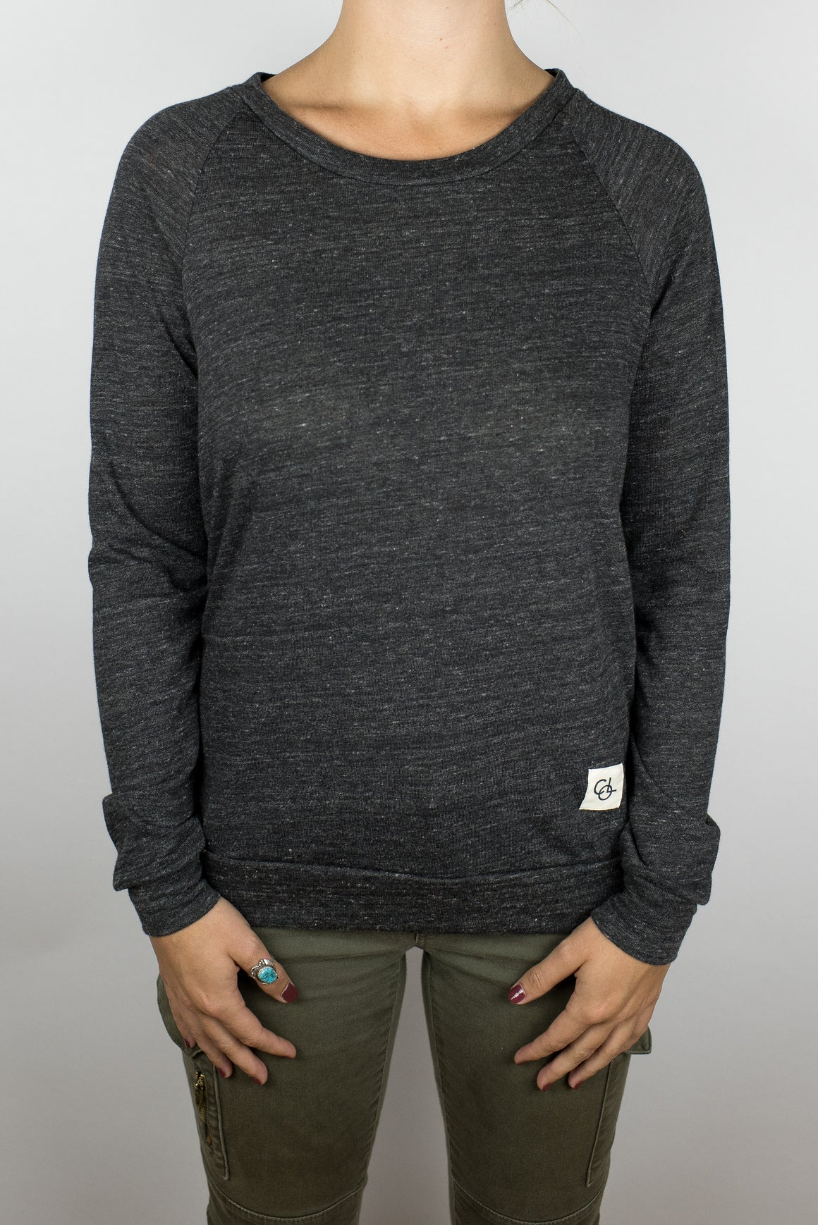 The Rise and Shine Pullover in Black