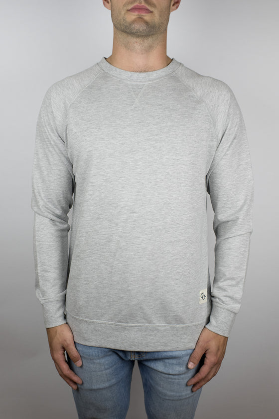 The Passion Raglan in Light Grey