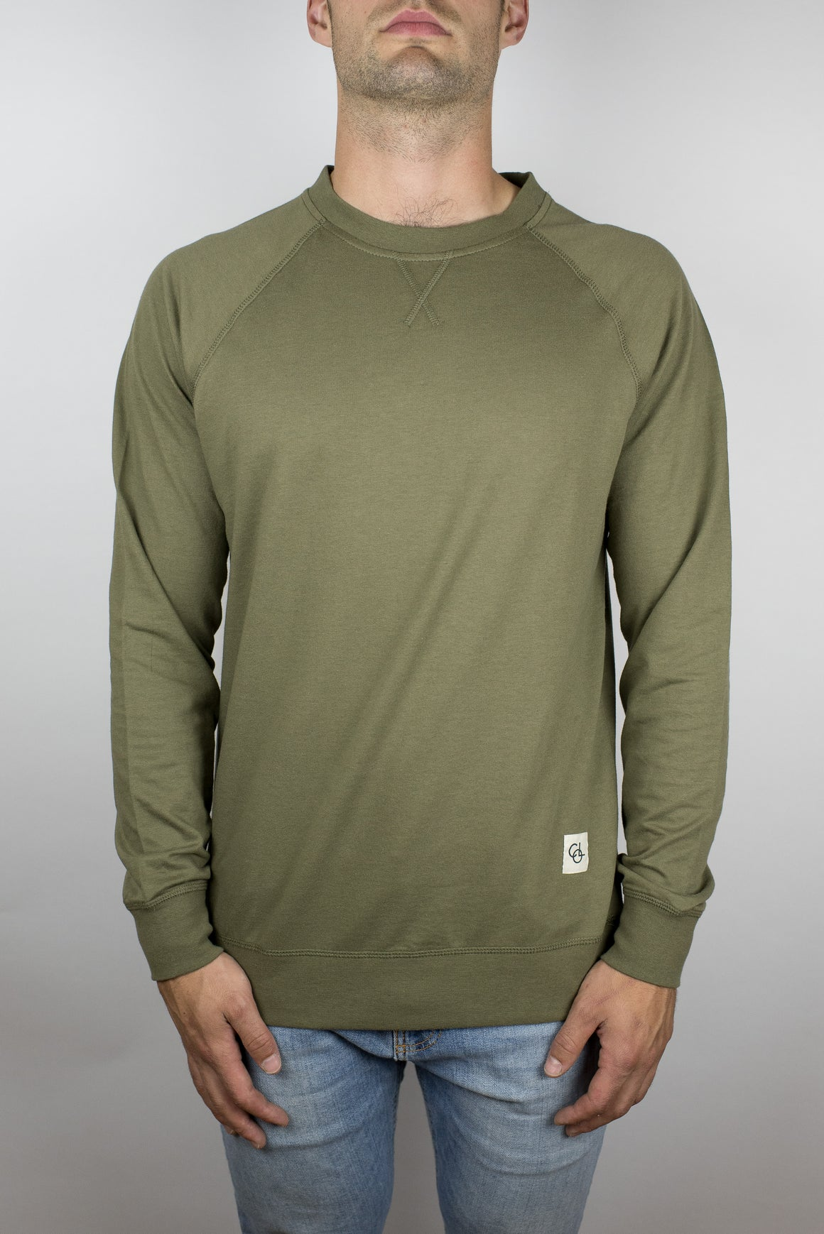 The Passion Raglan in Olive