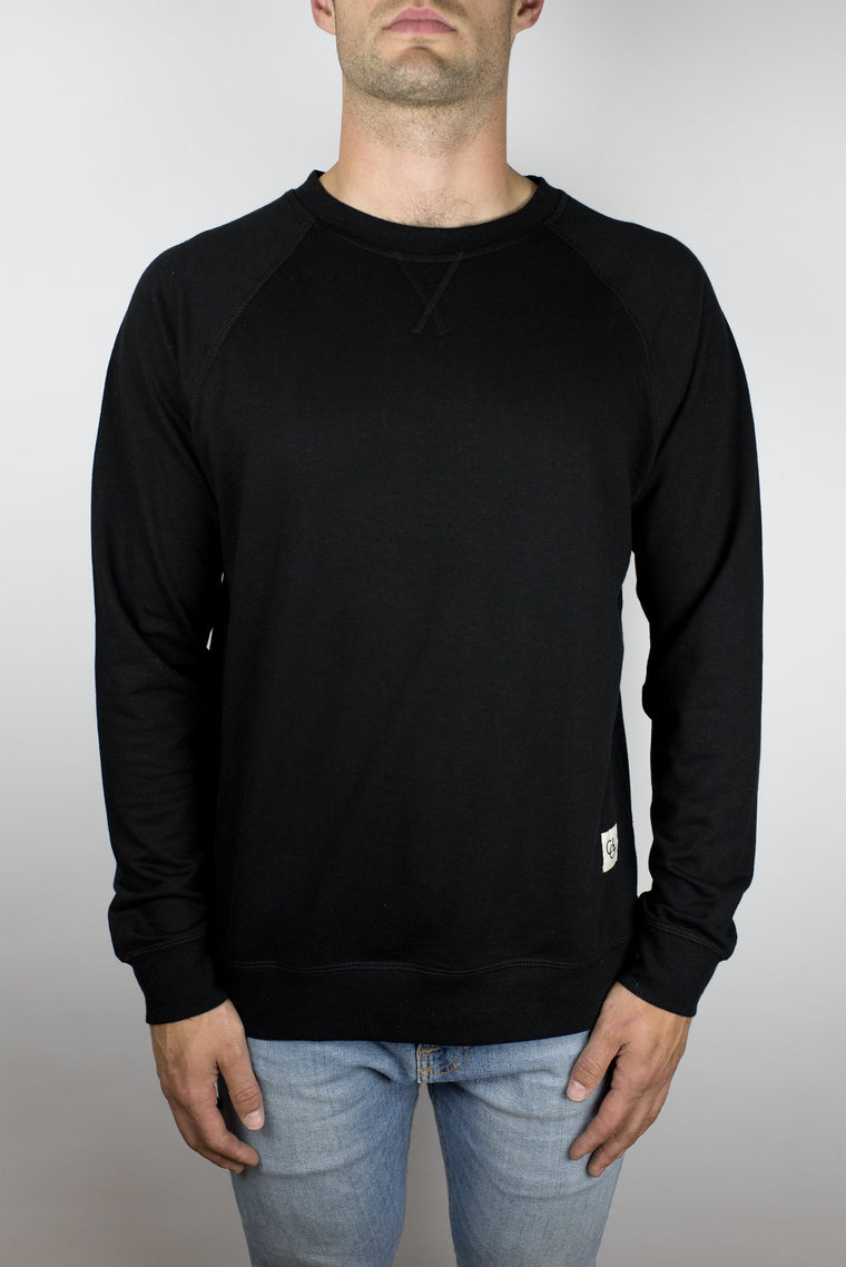 The Passion Raglan in Black