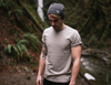 The Port Beanie in Dark Grey