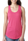 Heart Hustle Muscle Cotton Racerback Summit tank
