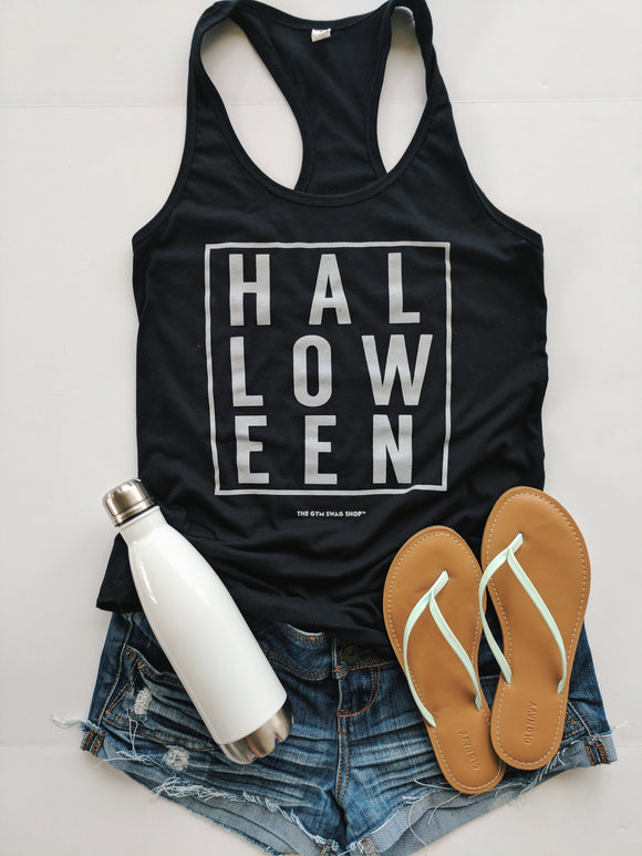 Halloween Cotton Racerback