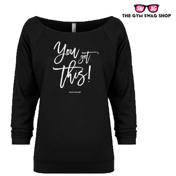 You Got This Lightweight 3/4 Sleeve Sweater