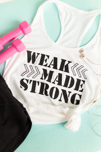 Weak Made Strong Racerback