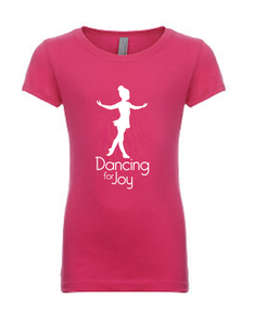 Dancing for Joy Tee - HOT PINK