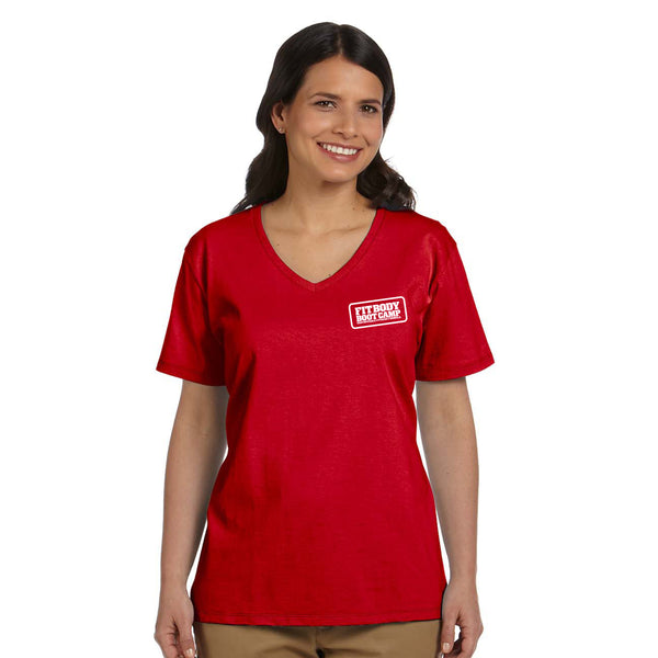 FBBC Sueded VNeck Coach Shirt
