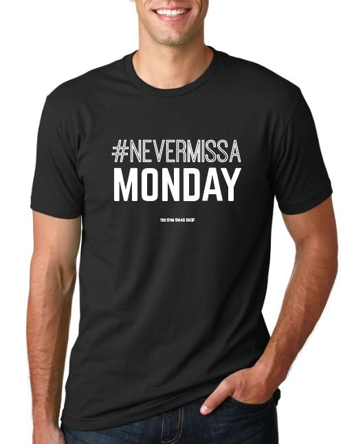 FBBC #Nevermissamonday Men's TEE