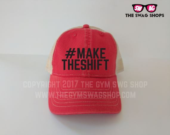 #MakeTheShift Ladies Trucker hat