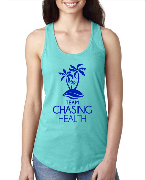 Chasing Health Cotton Racerback