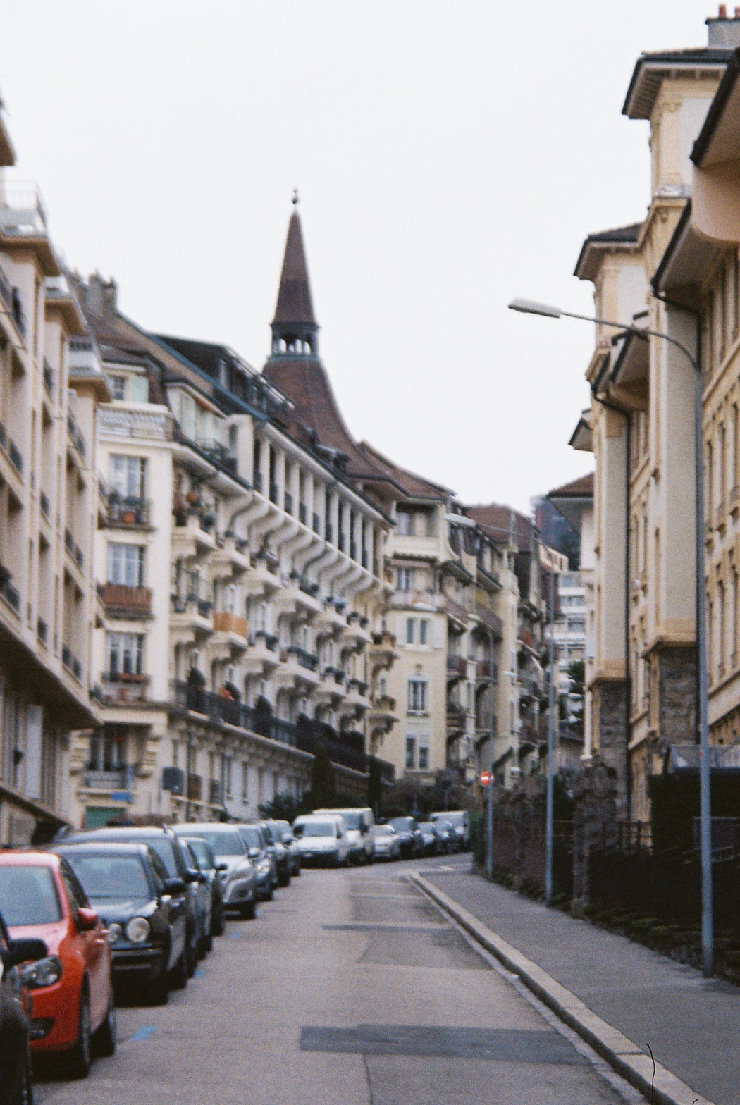 The Streets of Lausanne