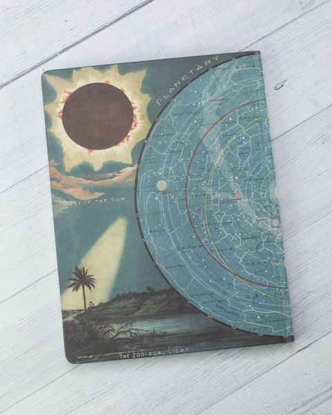 Star Map Hardcover Journal
