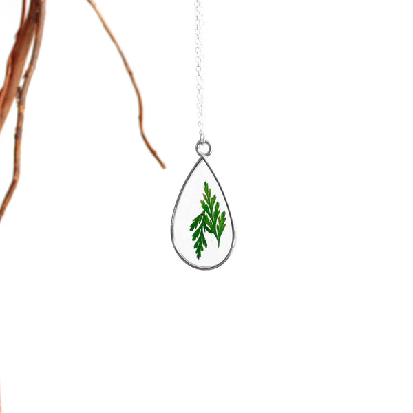 The Droplet Necklace (Silver)