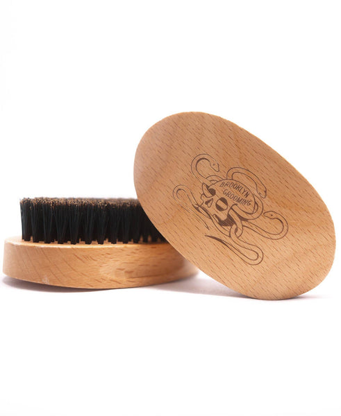 Beechwood and Boar Bristle Beard Brush