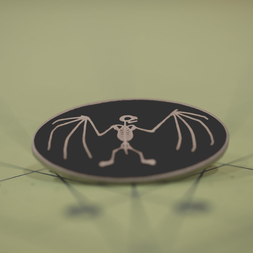 Bebe Bat Enamel Pin
