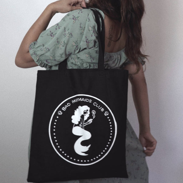 Bad Mermaids Club Tote Bag