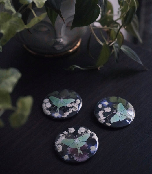 Nocturnal Bloom Button