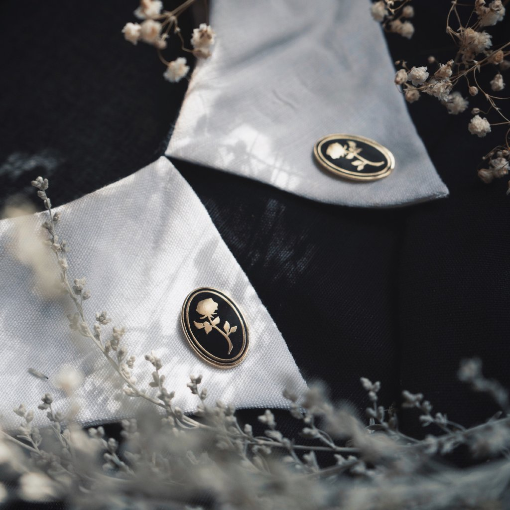 Rosa Eterna Pin Set