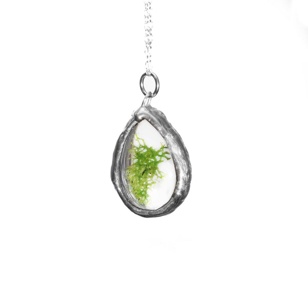 The Teardrop Necklace (Silver)