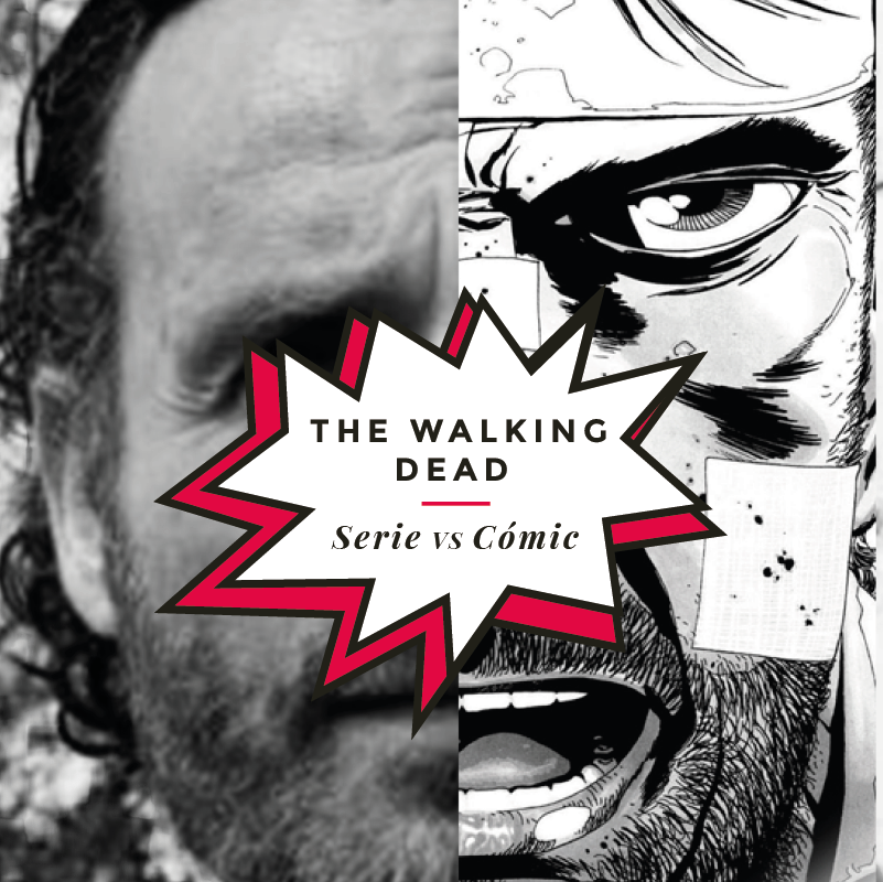 The Walking Dead, Serie Vs Cómic