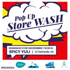 Pop up Store en Spicy Yuli | Wash Cómics