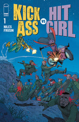 KICK-ASS VS HIT-GIRL #1 (OF 5) CVR D ARAUJO