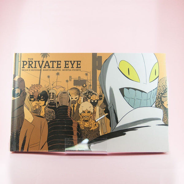 Cómic The Private Eye | Cómic en Inglés de Wash Cómics | Wash Cómics