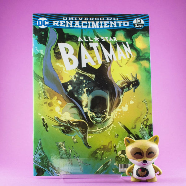 Cómic All-Star Batman 13 (Renacimiento) de ECC | Wash Cómics
