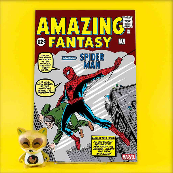 AMAZING FANTASY #15 FACSIMILE EDITION | Previews · One Shoot Issues | Wash Cómics